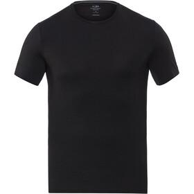 Icebreaker Anatomica SS Crew Shirt Men black/monsoon